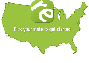 Pick your state to get started with our real estate exam prep