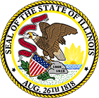 Illinois Real Estate Broker Exam Prep State Seal