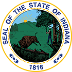Indiana Real Estate Exam Prep State Seal