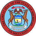 Michigan State Broker Real Estate Exam State Seal