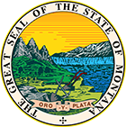 Montana State Broker Real Estate Exam State Seal