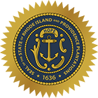 Rhode Island State Real Estate Exam State Seal